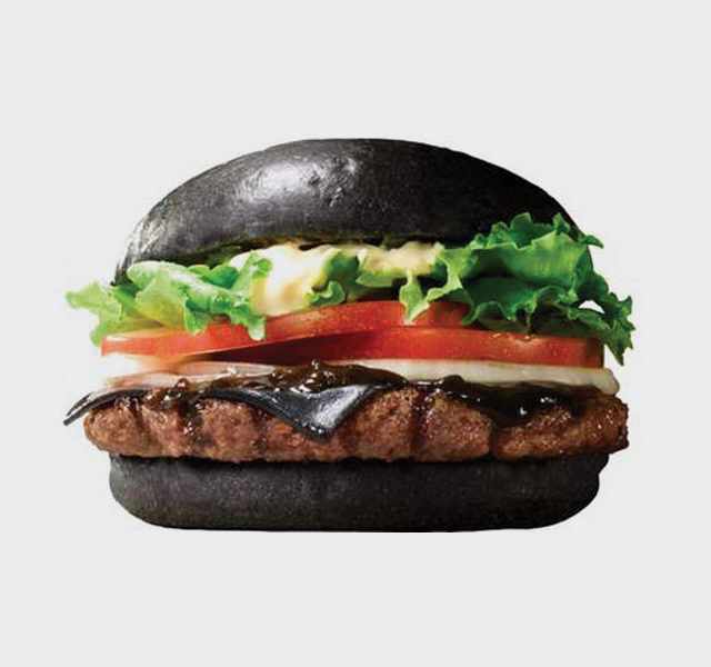 Burger King Japan Has A Murdered Out Cheeseburger