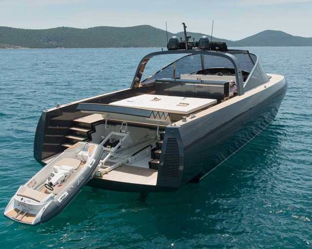 Foster + partners and alen yacht craft luxury 68-foot motorboat