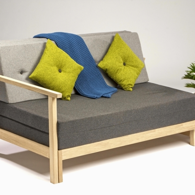 Smart Transforming Sofabed Saves Space in Style for Compact Living