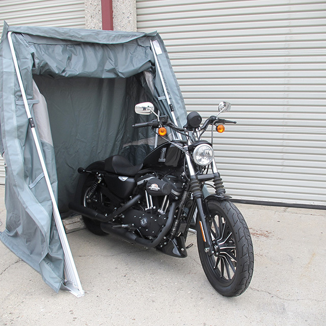 Speed-Way Motorcycle Shelter