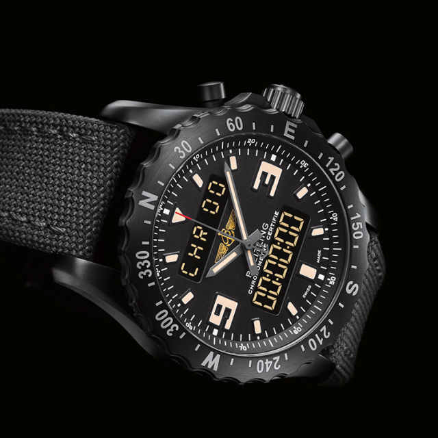 Breitling Chronospace Military Watch