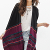 Open-Front Southwestern Poncho
