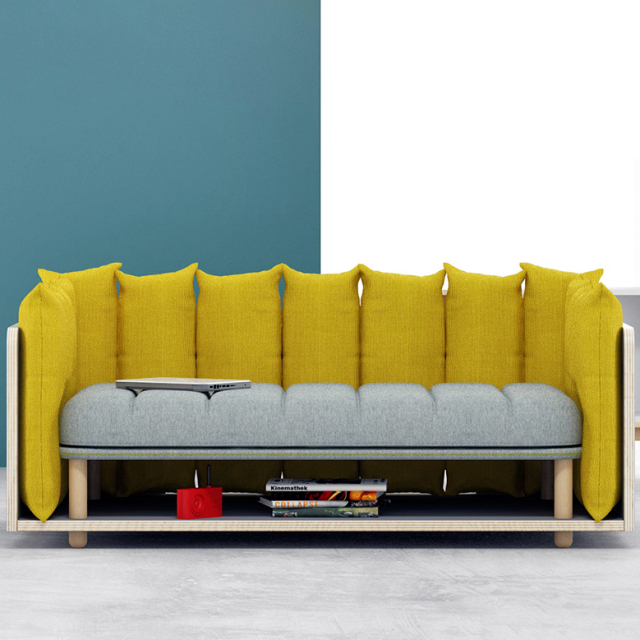 re-cinto sofa by davide anzalone provides playful + unconventional uses