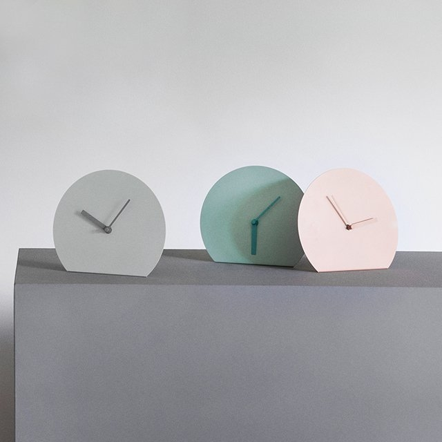 Menu Steel Stand Clocks by Norm Architects