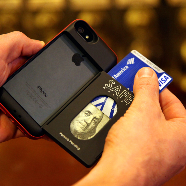 SAFE Wallet Payment Open Book iPhone Case