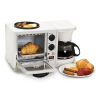 Elite Cuisine 3-in-1 Breakfast Station 4-Cup Coffee Maker