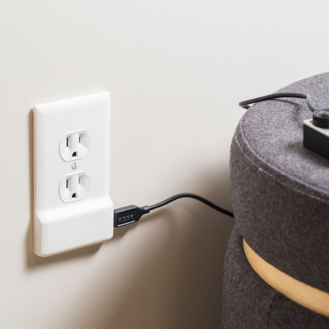 SnapPower Charger – A USB charger in a coverplate