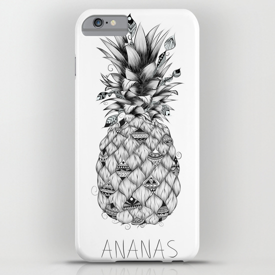 Ananas iPhone & iPod Case by LouJah