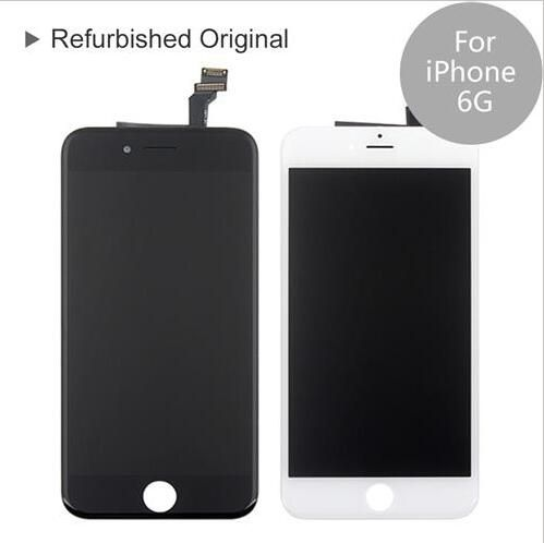 iPhone 6G Compatible LCD Screen Assembly – Refurbished – White